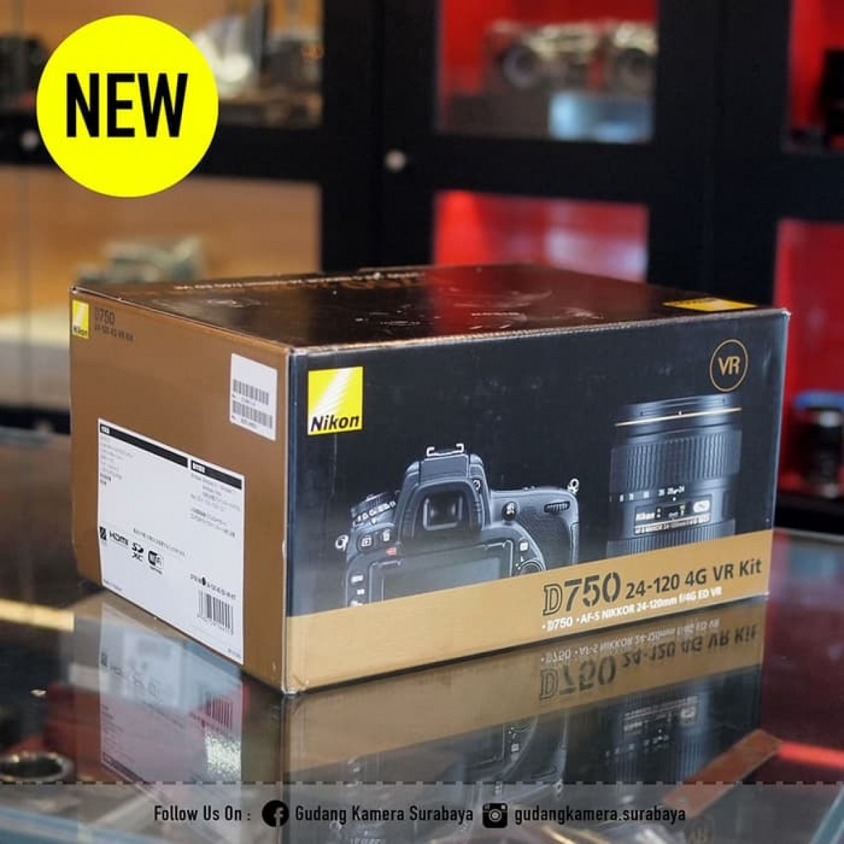 NEW !!! Nikon D750 Body Only